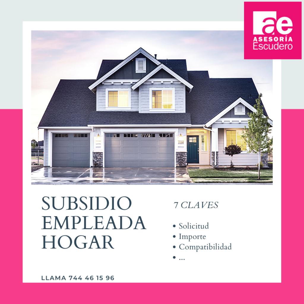 subsidio empleada hogar COVID 19